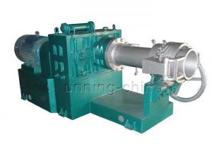 China CE Approved Hot Feed Rubber Hose Extruder For Epdm Silicone Rubber Extruding on sale
