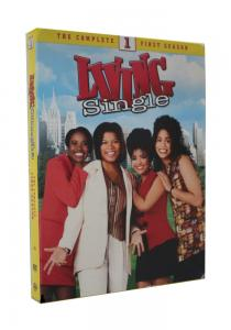 China 2018 newest Living Single Season 1 4dvds Adult TV series Children dvd TV show kids movies hot sell on sale
