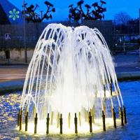 Fountain With Water, Light, Flame, Music And Fireworks Giant Musical Water Dancing Fountain For Large Park