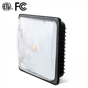 China 70 Watt White LED Low Bay Lights 8600lm DLC Listed Surface Mount For Public Venues on sale