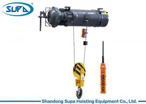 China IP55 Waterproof Electric Wire Rope Hoist Suspended Design 380V 3P Voltage on sale