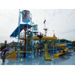 Parque exterior da água do campo de jogos dos jogos da água, casa grande da água para o OEM de 100 cavaleiros