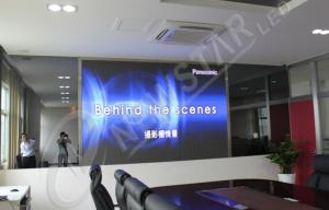 China 1R1G1B P5 Indoor LED Video Wall , SMD3528 Advertising LED Display with High Contrast on sale