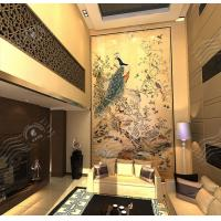 Art Decorative Painting, Traditional Chinese Painting, Wood TV Wall Art Decorative Painting
