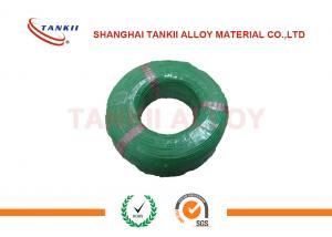 China Tipo sólido alambre del termopar de K 0,2 milímetros con amarillo del aislamiento del Teflon PFE rojo verdes y blancos del color y on sale