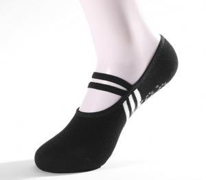 China Pilates Ballet Dance Sports Socks Ankle Full Toe Yoga Socks For Women Black Color on sale