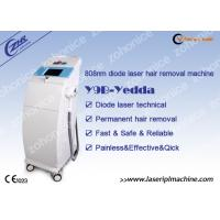China Medical Diode Laser Hair Removal Machine For Beard / Backside Removing on sale