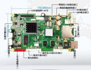 China Ethernet Digital Signage LCD PCB Board on sale