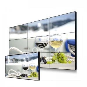 China High Definition LCD Video Wall Display , Indoor Narrow Bezel Seamless LCD Wall on sale