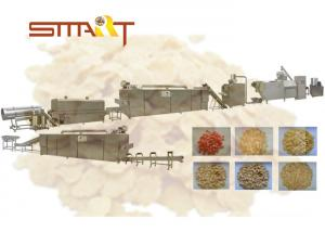 China Automated Corn Flakes Production Line , SS Breakfast Cereal Making Machine on sale