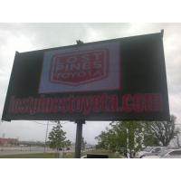 China P 8mm Full Color Outdoor LED Billboard , SMD3528 Advertising LED Display CVBS on sale