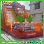 Inflatalbeの良質の屋外のスライド、ポリ塩化ビニールの物質的で膨脹可能なスライド、販売のための膨脹可能な乾燥したスライド、警備員のスライド