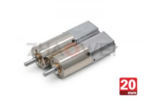 China 0.5W Brushless 12v dc gear motor 7 rpm With 384 / 1 Ratio For Home Appliance on sale