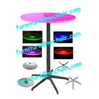 China acrylic led cocktail bar table on sale