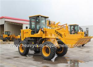 China Hydraulic Pilot Control Front Loader Equipment T939L Air Brake With Quick Hitch Attachments on sale