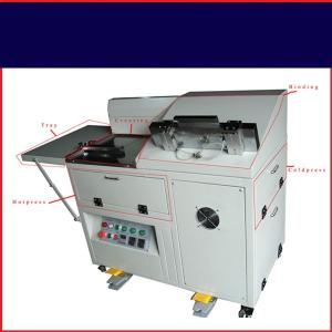 China Desktop Album Making Machine , Case Cover Photo Book Making Equipment Automatic on sale