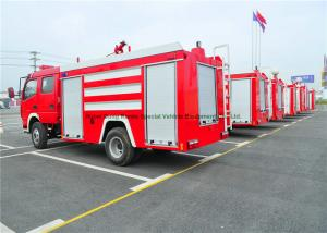 China Emergency Rescue Fire Fighting Truck With Fire Pump 4000Liters Water Tank on sale