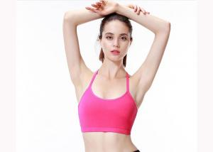 China Multi Colors Womens Yoga Bras , Yoga Clothes For Women Soft Nylon Materials on sale