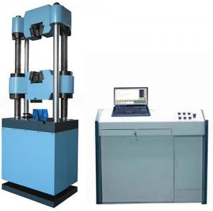 China 1000 KN Tensile Strength Testing Machine Electro Hydraulic Servo For Metals on sale