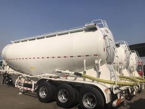China 3 Axle Used Cargo Trailers V Tanker Shape With 40m3 Tanker Capacity on sale
