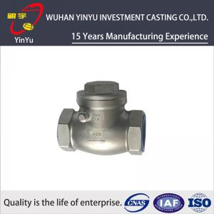 China Durable Valve Casting Parts Steel Precision Casting Process Annealling Heat Treatment on sale