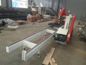 China Le type lourd planches en bois d'approvisionnement de la Chine de contrôle automatique du model 2500 coupant le Tableau a vu la machine on sale
