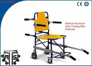 China Aluminum Foldable Emergency Stair Chair Manual Hospital Rescue Stretcher on sale
