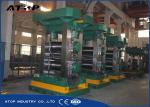 Steel Strip 4 High Rolling Mill , Cold Rolling Plant With PLC Controller
