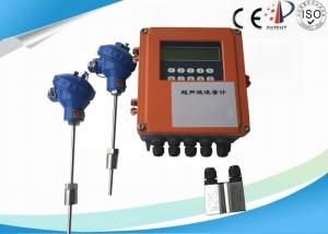China Multiple - pulse Ultrasonic Flow Meter Portable , Non Invasive Flow Meter Convenient Measure on sale