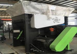 China WPC Profile /  Board Plastic Recycling Extruder Machine 8 - 10mm Scraps on sale