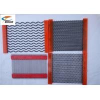 China High Wear - Resistant Mining Screen Mesh Stainless Steel 1mm - 14mm Wire Diameter on sale