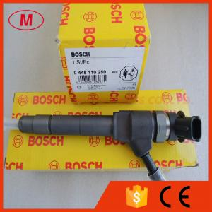 China 0445110250 BOSCH common rail injector for MAZDA BT-50 WLAA-13-H50 on sale