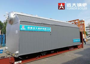 China SZL Chain Grate 15 Ton Biomass Fired Steam Boiler For Textile Factory on sale