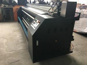 China Mirror Flag / Fabric Banner / Ice Silk Mat Making Print System Epson DX5 * 2 PCS on sale