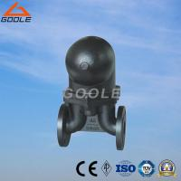FT44 Type china flanged type  steel /stainless steel lever ball float steam trap