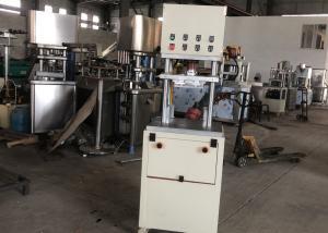 China Semi Auto Bath Fizzy Tablet Press Machine / Bath Bomb Tablet Maker Machine on sale