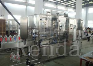China Straight Line Water  Automatic Water Bottle Filling Machine Liquid Filling Machines on sale