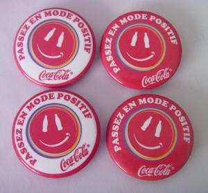 China tin button badge (a set) on sale