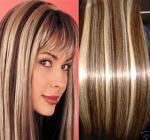 Acorte en la trama del pelo, clip en extentions del pelo de la cutícula