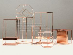 China Steel Metal Crafts Shop Window Displays Accessories OEM / ODM Acceptable on sale