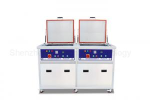 China AC380V 77L Ultrasonic Cleaning Machine SUS Stainless Steel 3000W Heating Power on sale