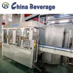 Complete Mineral Drinking Water Filling Machine Electric Driven Gravity Filling