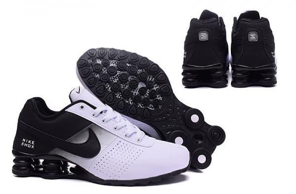 02be4f666e7 Nike Shox Deliver Shoes Black White Green Men s Sneakers Euro Size 40-46 US  8-12 Images