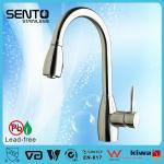 Single lever pull out sink mixer upc kitchen faucet