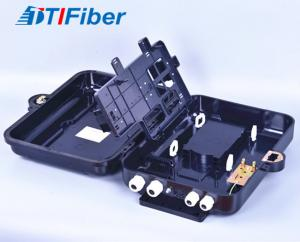 China FTTH 24 Ports Fiber Optic Distribution Box Indoor Outdoor SC/LC Adapters Suitable on sale
