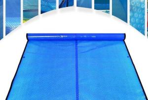 China Swimming Solar Pool Bubble Cover And Blanket Bubble Film Wrap PE Plastic on sale