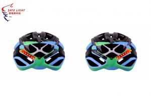 China SMD Waterproof LED Bike Helmet Mens Bicycling With Cool Comfort Pads on sale