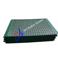 1070 * 570 Mm Wave Type Oilfield Screens Oil Filter Mesh For Oilfield Drilling