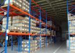 Estantería del estante de la plataforma de la logística, estantes de acero máximos de la estantería de la carga Q345 de 2500 kilogramos