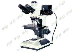 China Good Operability Metallurgical Microscope , Upright Microscope With Trinocular Head on sale